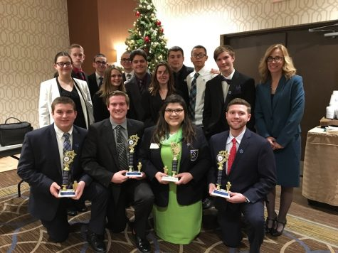 DECA students bring home wins