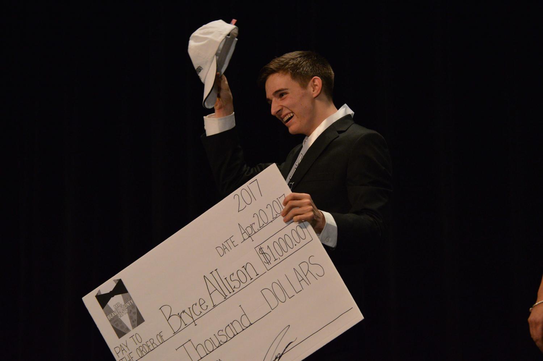 Western Beaver's Senior Bryce Allison is crowned the Mr. Beaver County's Winner for 2017.