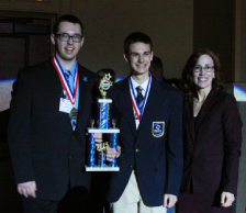 DECA's sweet victories at Hershey: Seven students to attend DECA nationals