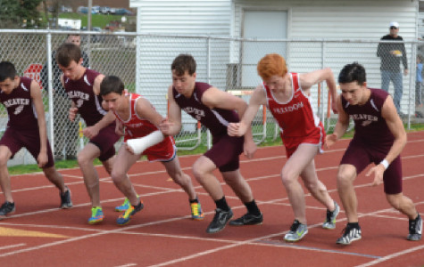 The final leaps and bounds: Track members explain their improvement and how they prepare for competition
