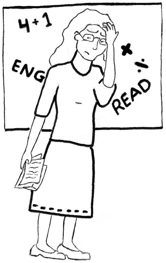 A teacher's homework