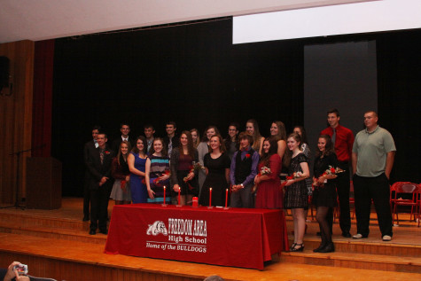 NHS inducts 11