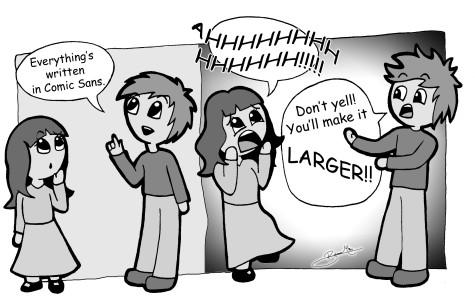 Comic Sans shunned