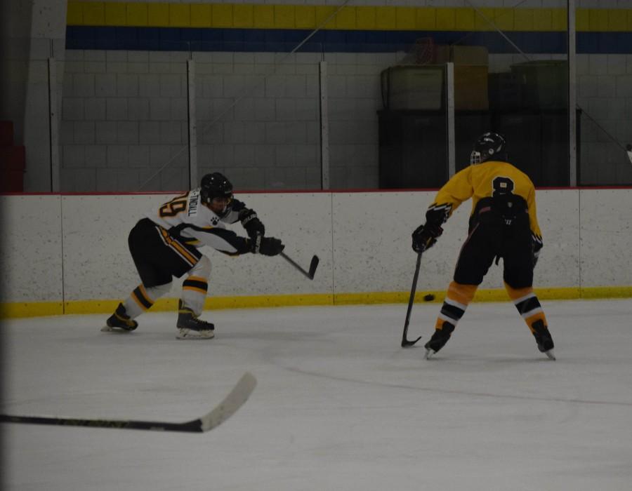 Skating for playoffs