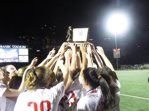 Girls' Soccer wins first ever WPIAL title