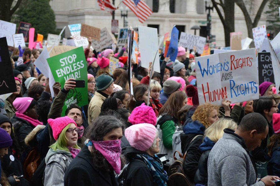 On Jan. 21, 500,000 people took the streets of Washington, D.C. to advocate for women's rights
