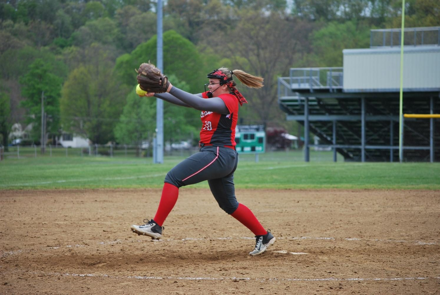 Times%E2%80%99+Athlete+of+the+Week+of+May+13+Madison+Slowinski+pitches+at+the+game+at+Riverside+on+May+4.+%0A