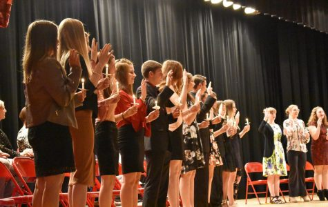 NHS welcomes 13 new inductees