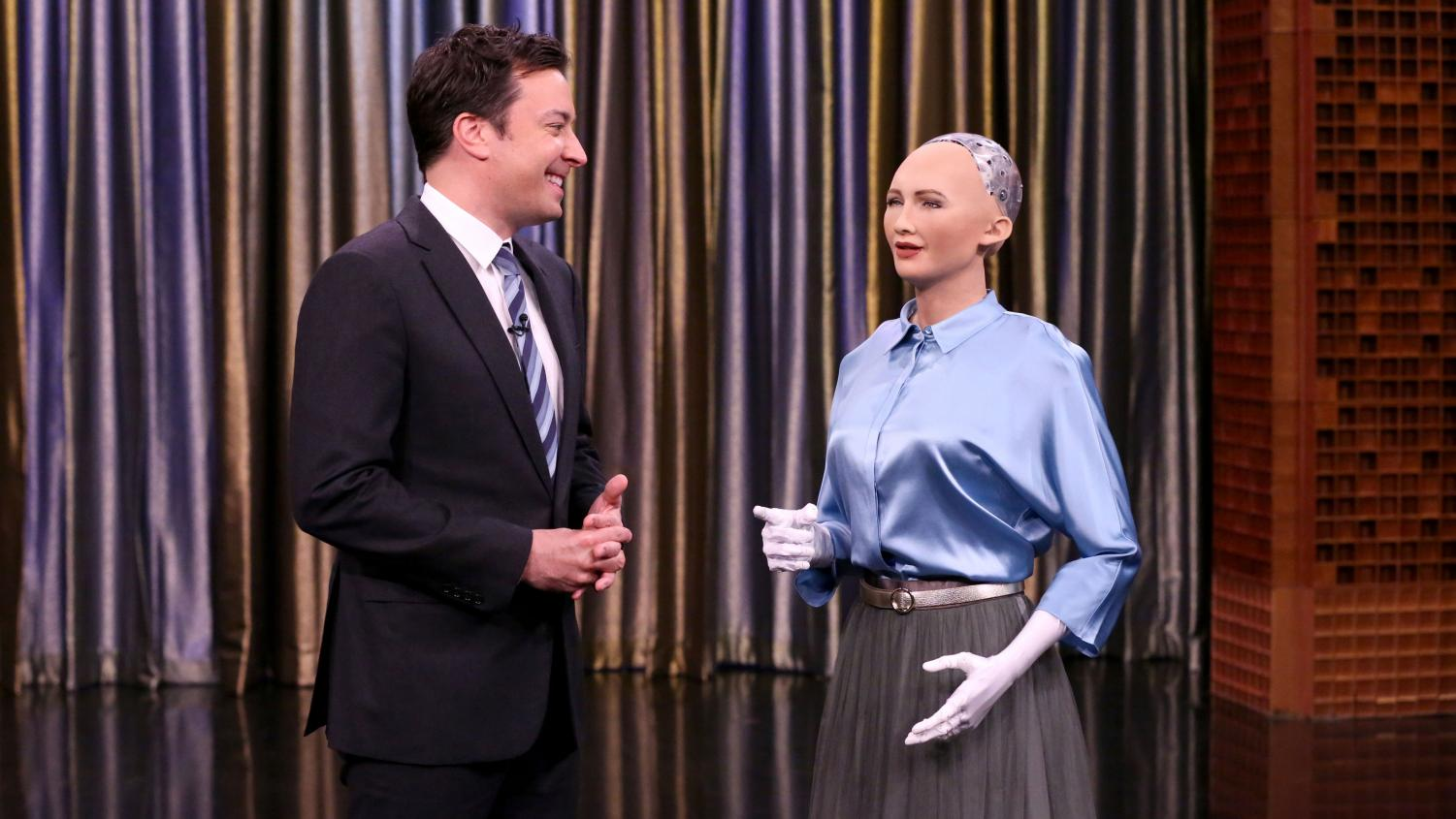Sophia appears on The Tonight Show with Jimmy Fallon.