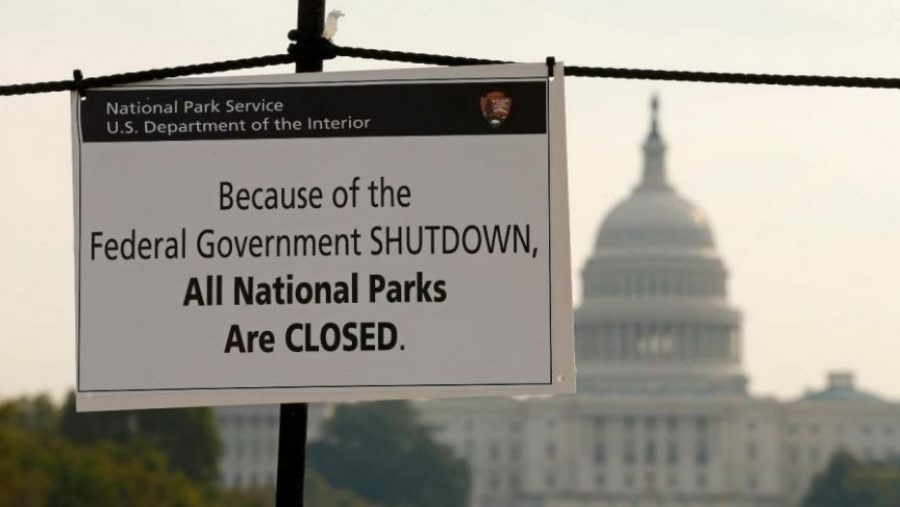 The government shutdown for 9 hours on Feb. 8 until Congress passed the bill regarding major-spending issues.