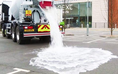 Thirsty concrete: A revolutionary draining system