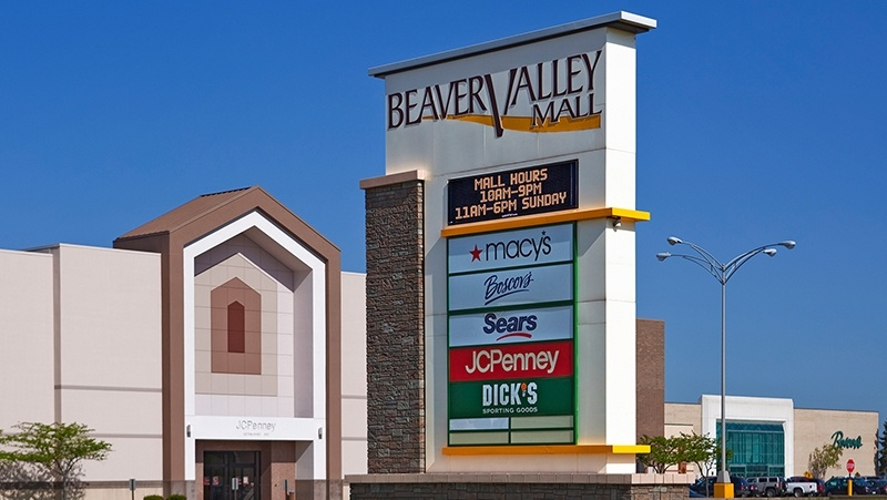 The Beaver Valley Mall is one of the many places undergoing changes in Monaca.