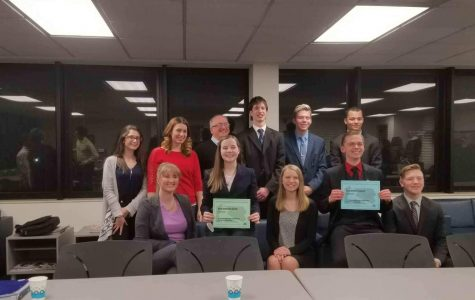 New Brighton mock trial team moves onto state competition
