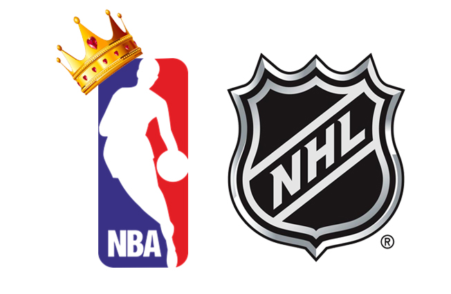 "The NBA is the ""King"" of the playoffs in the months of April and May."