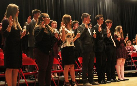 Number of inductees nearly doubles in National Honors Society