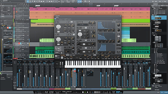 This Digital Audio Workspace (DAW) software is used by many artists creating their own music and though it looks complicated, it is easy to learn.