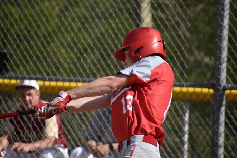 Baseball team ends season third in section, makes playoffs