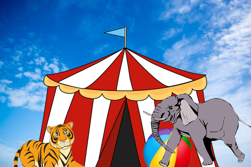 American circuses were associated with animal abuse but circuses in other countries were still able to work with animals since they appropriately cared for the animals that they were working with.
