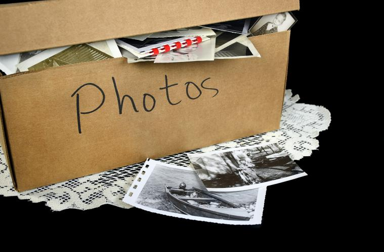 Old photos provide a unique way to share stories and reminisce on memories of the past.