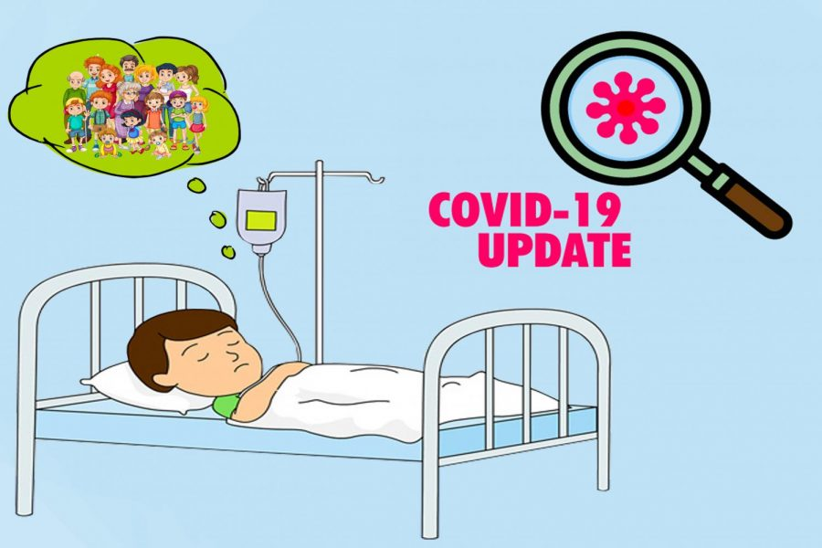 Many COVID-19 patients await for family members to come visit, but little do they know hospitals banned visitation due to the outbreak.