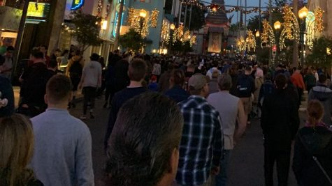 Before the closure of Disney World, Hollywood Studios usually had a ton of people crowding in early in the morning before opening.
