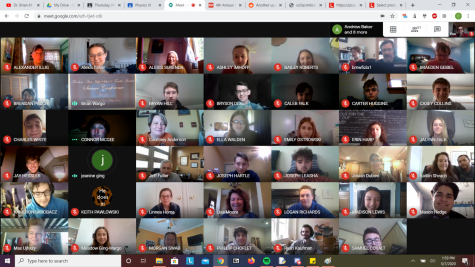 Throughout the duration of the conference, overall 100 people joined the virtual event to hear others talk or ask questions.