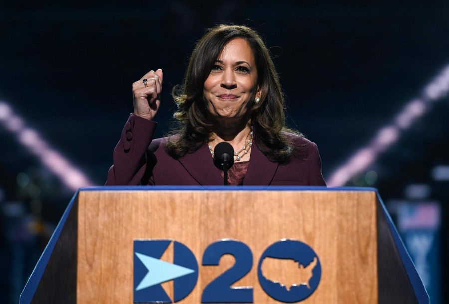 Kamala Harris accepts her vice presidential nomination at the Democratic National Convention through a heartwarming, yet audacious, speech.