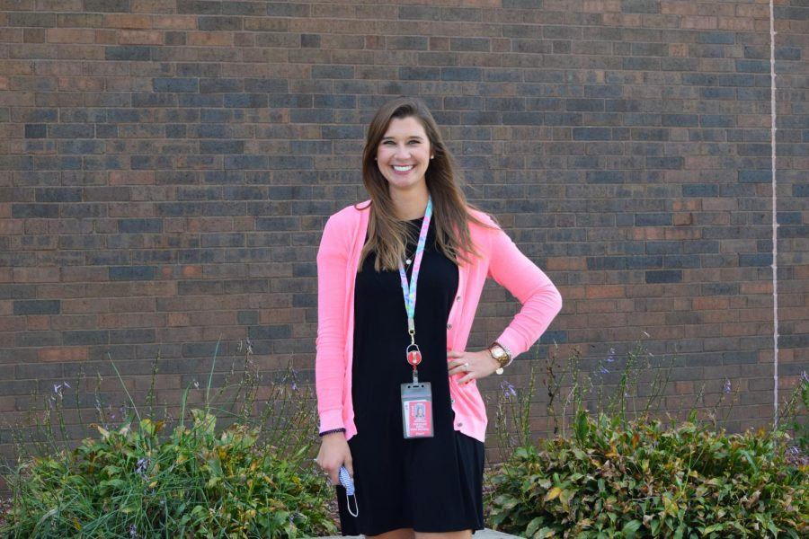 Communications teacher Emily Skirtich feels confident in her positive way of teaching.