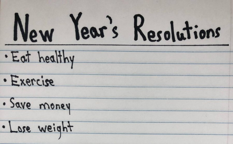 New Year's resolutions have become a useless list in our everyday lives.