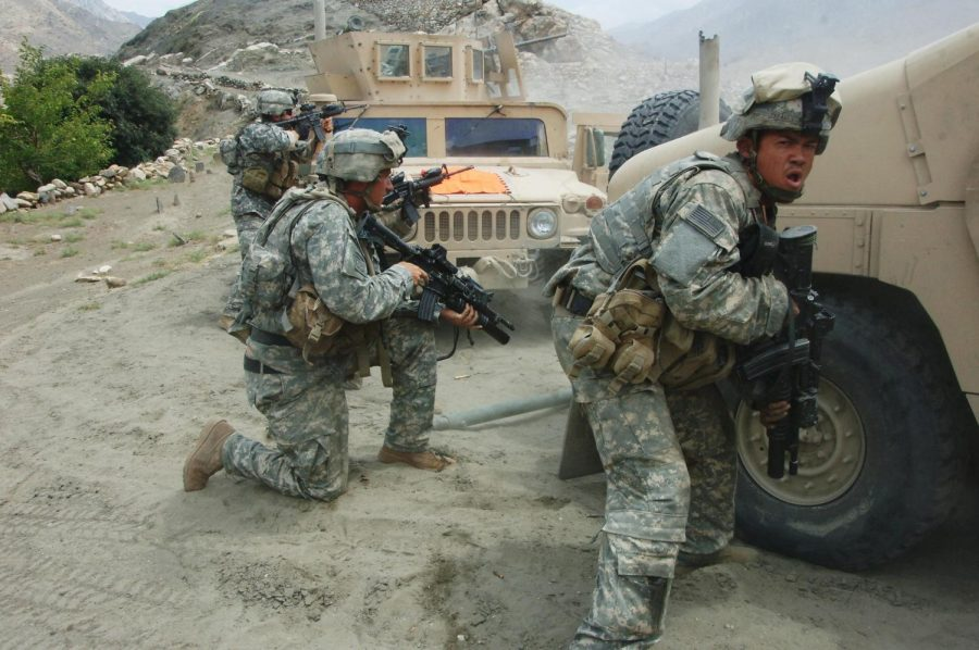 U.S.+troops+fought+the+Taliban+forces+in+Afghanistan+for+many+years+until+President+Biden+ordered+a+troop+withdrawal+from+the+area.