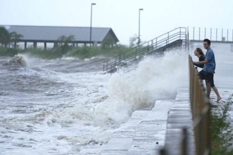 Hurricane Ida makes landfall in Louisiana as a category 4 hurricane, producing 10 feet of storm surge.