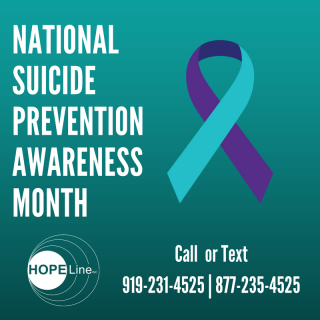 With September being National Suicide Awareness month, suicide awareness is highlighted, and this pandemic has affected many in the world.